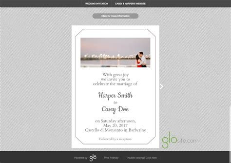 glosite email wedding invitation background pattern copy