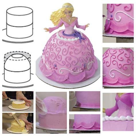 diy cake decorations wonderful diy princess cake decorating