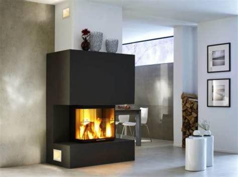 les radiantes camini cheminee moderne 3 faces