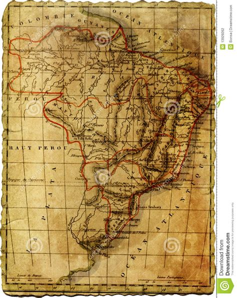 ancient american map ancient america map royalty free stock photo