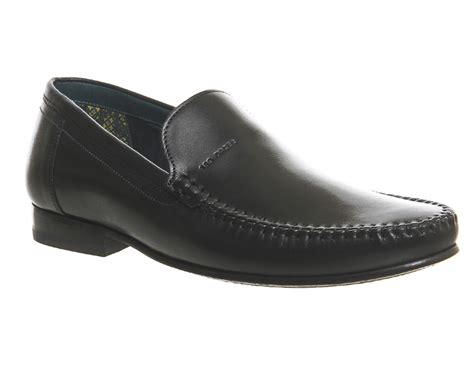 ted baker mens loafers ted baker simeen 2 loafers in black for lyst