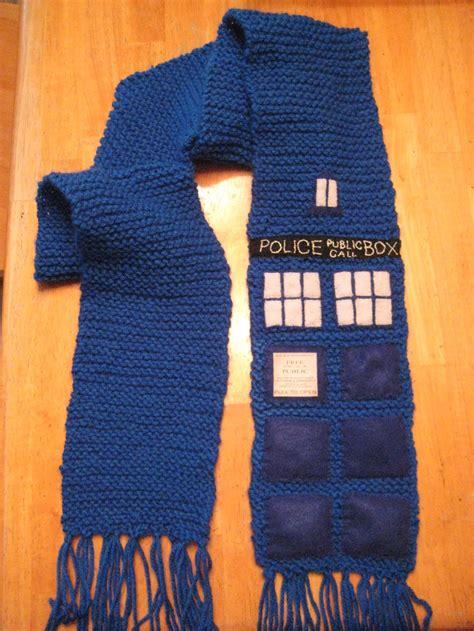 knitting pattern for tardis scarf doctor who tardis scarf by princejillian on deviantart