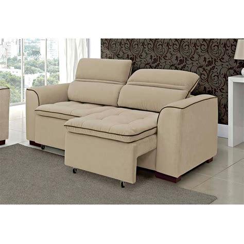 sofa reclinavel 2 lugares sof 225 linoforte de 2 lugares retr 225 til e reclin 225 vel modelo