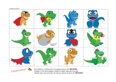 memory testo italiano gioco memory con i dinosauri sta disegna e crea