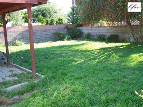 Backyard Renovations Before And After by Small Backyard Before After Benny Sam