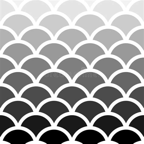 japanese pattern black and white seigaiha japanese seamless black and white shade wave