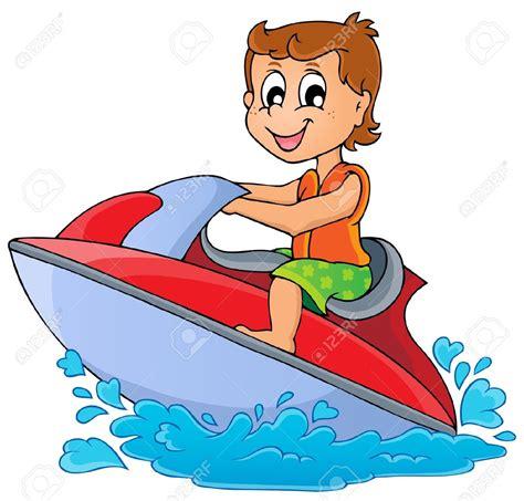 cartoon boat ski personal watercraft clipart clipground
