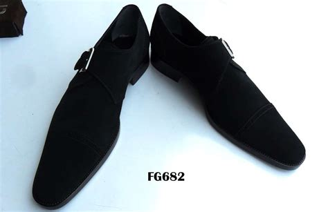 leather monk shoes fg shoes