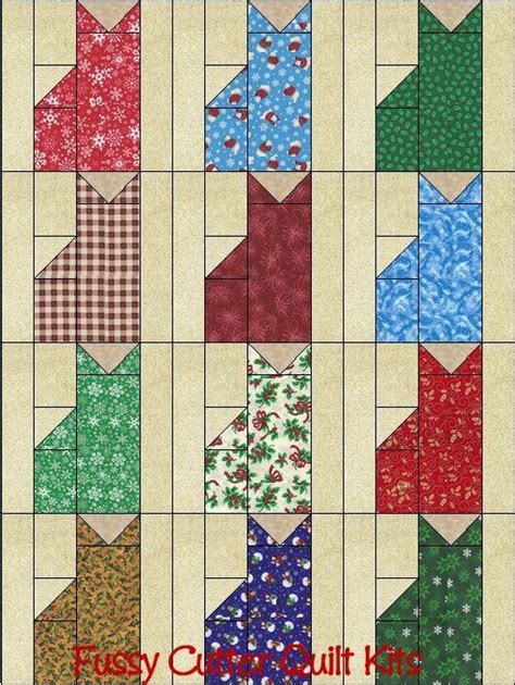 Beginners Patchwork - cats grab bag fabric fast easy