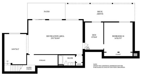 design your own basement floor plans belvedere at bellevue the mccartney with basement home