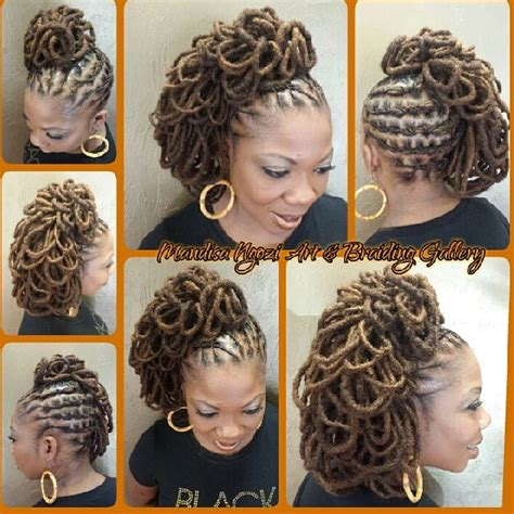 different styles of wrappin mohawk the gallery for gt dreadlock braid styles women