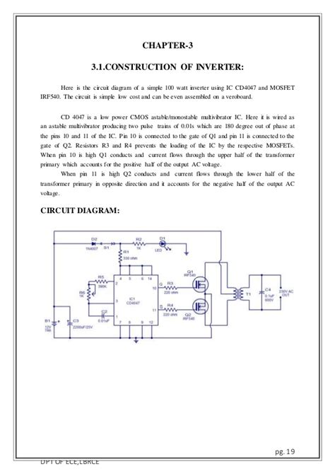 power inverters 12v to 230v wiring diagram solar