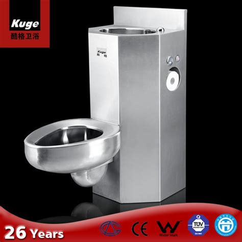 standard prison sink 304 stainless steel prison toilet sink combination view