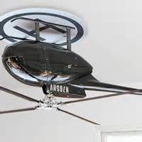 an helicopter makes for one bad ceiling