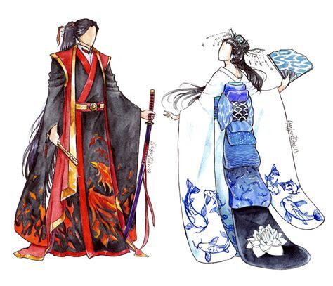 kimono pattern anime kimono design by 9denko6 on deviantart