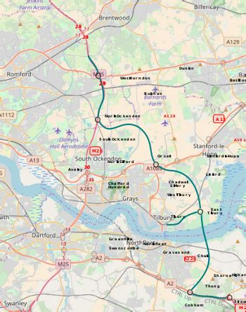 lower thames river map lower thames crossing wikipedia