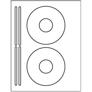 Amazon Com 200 Cd Dvd Labels Use The Avery 174 5931 Template To Create These Are White Matte Cd Label Template