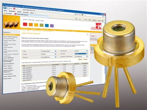 laser diode manufacturer cw laser diodes worldwide cooperation with well known manufacturers