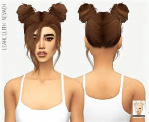 pretty sims cc hairstyles leahlillith nevaeh solids at miss paraply 187 sims 4 updates