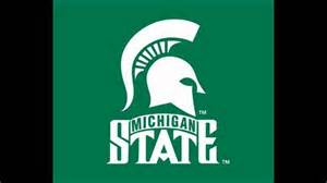 u of m colors michigan state fight song