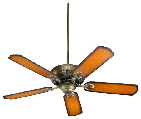 Traditional Ceiling Fan With Light Quorum Lighting Chateaux 52 Quot Traditional Ceiling Fan X 22