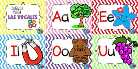 imagenes en ingles con las vocales las vocales en fabuloso dise 241 o para ense 241 ar y aprender