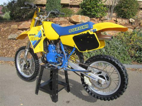 Suzuki Dirt Bike Prices 86 Suzuki Rm80 Dg Pipe Vmx Race Dirt Bike Motorcycle Ahrma