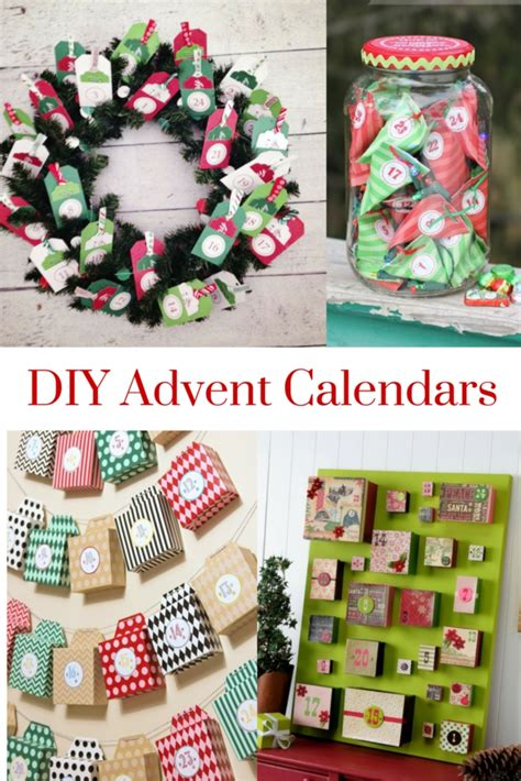 ideas to make your own advent calendar diy advent calendars