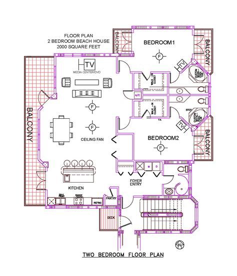2 bedroom beach house plans 2 bedroom beach house floor plans wood floors
