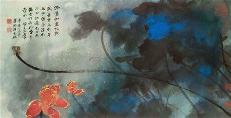znag painting zhang daqian 1899 1983 lotus christie s