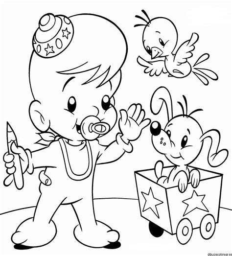 imagenes para colorear bebes dibujos de bebes
