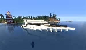 minecraft tuto yacht bateau de luxe