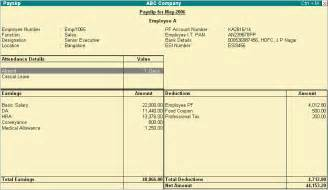 Malaysia Payslip Template by Payslip