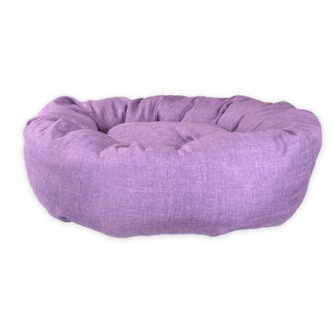 purple dog bed standard donut pet bed uk purple dog bed new pet beds direct