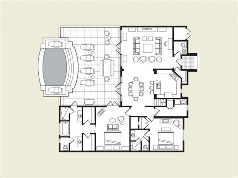 floor plan for a hacienda style house house plans mexican house floor plans mexican hacienda house plans
