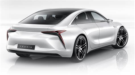 The Electric Car Tesla The Youxia X Electric Car Is A Stunning Tesla