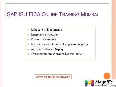 sap tutorial mumbai sap isu fica online training
