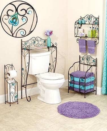 Peacock Bathroom Ideas by Jeweled Peacock Bathroom Collection The Lakeside Collection