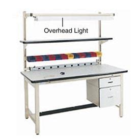 overhead bench work bench systems adjustable height 72 quot overhead