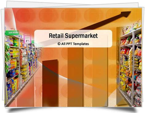 Retail Ppt Templates Free Powerpoint Retail Supermarket Template