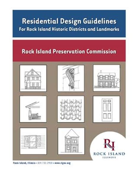 design guidelines waiver committee rock island il official website residential design