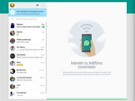 imagenes whatsapp web whatsapp en la tablet con whatsapp web