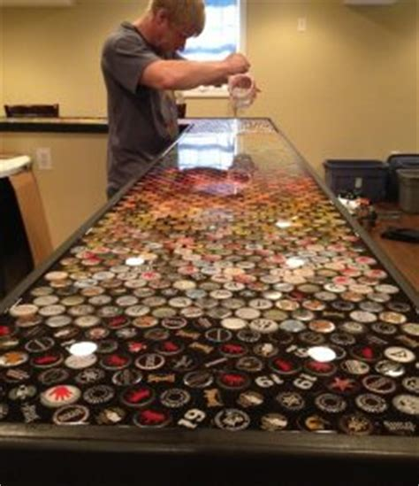 bottle cap bar top build an awesome custom bottle cap bar top your projects obn