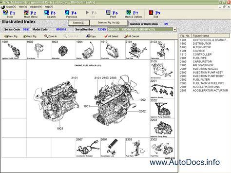 Toyota Parts Catalog Diagram Toyota Industrial Equipment V1 69 Spare Parts Catalog