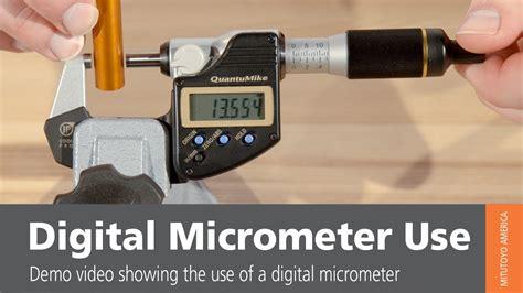 digital used digital micrometer use from mitutoyo