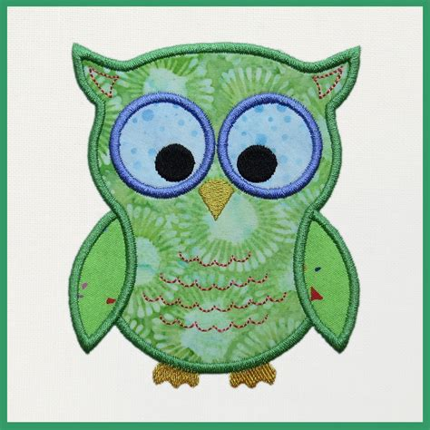 free embroidery applique designs 14 owl embroidery designs free images free owl