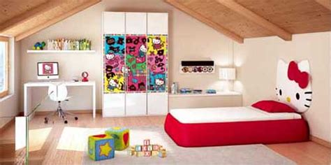 hello kitty little girls bedroom decorating ideas decoist hello kitty house decorating decoist