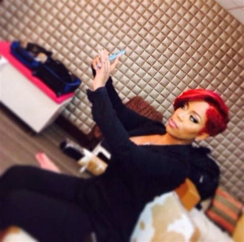 K Michelle Short Red Hair | k michelle love me some k michelle and red hair