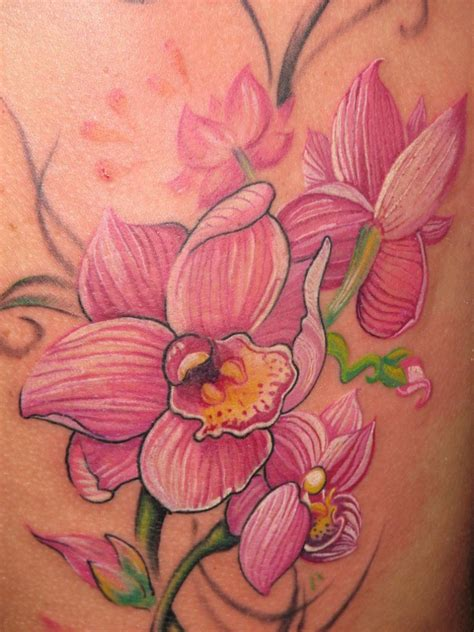 purple orchid tattoo designs orchid tattoos designs ideas and meaning tattoos for you