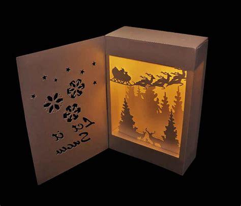 google design box shadow 3d svg shadow box lantern let it snow